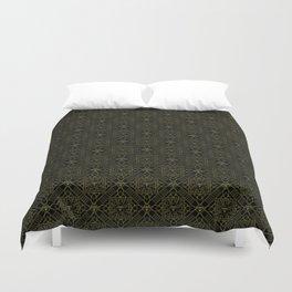 Diamond gold pattern Duvet Cover
