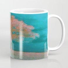 ABSTRACT - solitary tree Mug