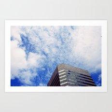 Sky on Building Art Print