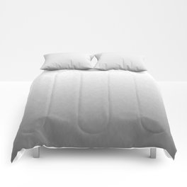 White to gray ombre flames Comforters