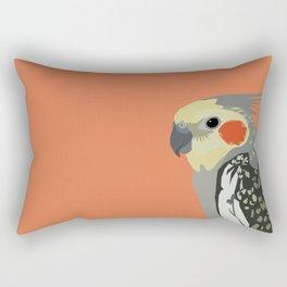 Marcus the cockatiel Rectangular Pillow