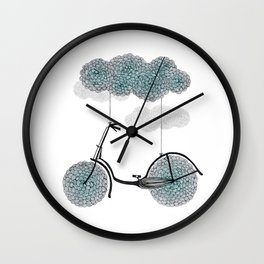 Ride Or Fly Wall Clock