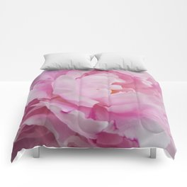 Floral Fun - Peony in pink 4 soft and billowy Comforters