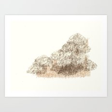 Untitled (Cloudy) Art Print