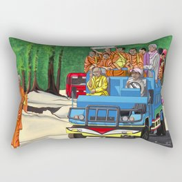 TRUCKIN' MONKS Rectangular Pillow