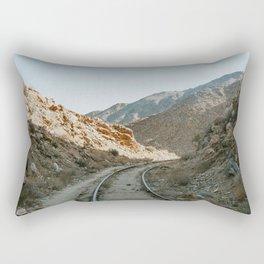 Mountain trail Rectangular Pillow