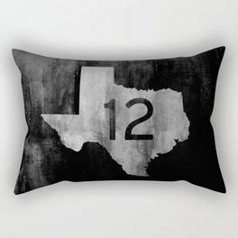 Texas Ranch Road 12 Rectangular Pillow