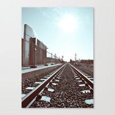 Railway scenery Canvas Print