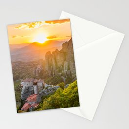 Meteora, Greece. Stationery Cards