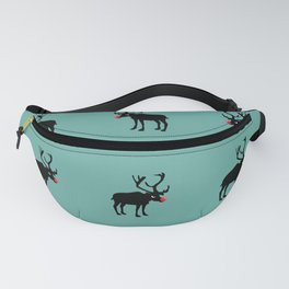 Angry Animals: Rudolph the red nosed Reindeer Fanny Pack