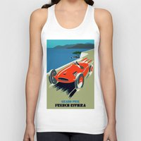 grand theft auto Tank Tops featuring Retro style auto Grand Prix Rivièra by aapshop