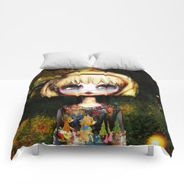 Goldilocks Grows up ~ Just right Comforters