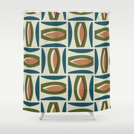 Alcedo - Orange Shower Curtain