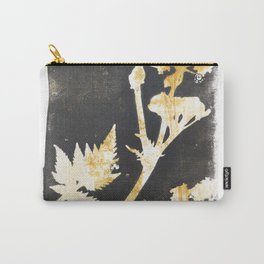 Wild flowers Ocker - botanical artworks Carry-All Pouch