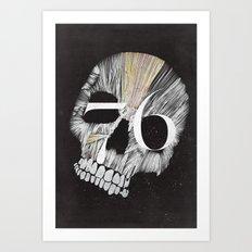 Skulltones Art Print
