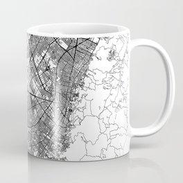 Bogota White Map Coffee Mug