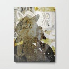 MONK Metal Print