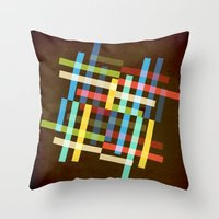 Up and Sideways Throw Pillow