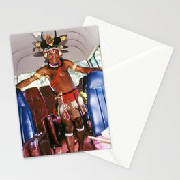 Tour Guide In Remote, Rugged Papua New Guinea Stationery Cards