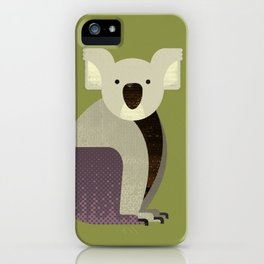 Whimsy Koala iPhone Case
