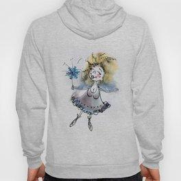 Little fluffy blue fairy Hoody