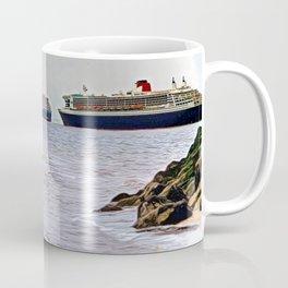 Three Queens on the River Coffee Mug