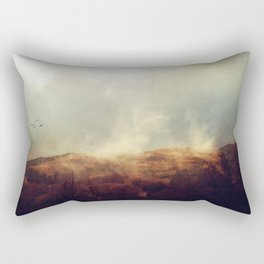 There is magic in the wild places of earth. Rectangular Pillow