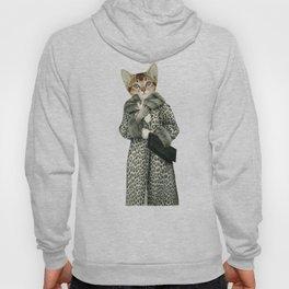 Kitten Dressed as Cat Hoody