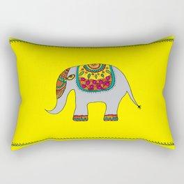 Gaja - The Majestic Elephant Rectangular Pillow