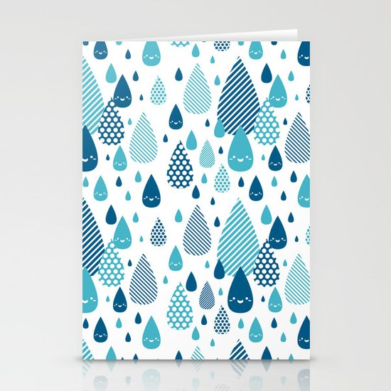 raindrop Stationery Cards