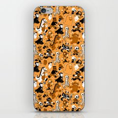 Monster March (Orange) iPhone & iPod Skin
