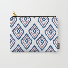Rugged Royal - aztec watercolour pattern Carry-All Pouch