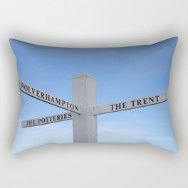 Canal side fingerboard Rectangular Pillow