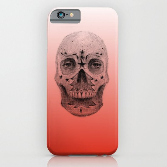 #34 - Christmas Tree Sugar Skull iPhone & iPod Case