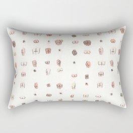 butts Rectangular Pillow