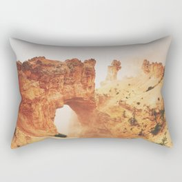 The Rocky Archway (Color) Rectangular Pillow