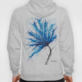 Aqua Flower Hoody