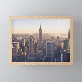 The View Framed Mini Art Print