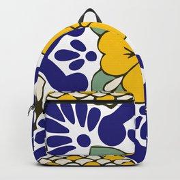 Talavera Gold Mosaic Backpack