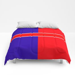 Team colors 6...red,blue Comforters