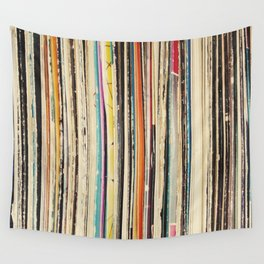 Record Collection Wall Tapestry