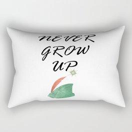 Never Grow Up - I Rectangular Pillow