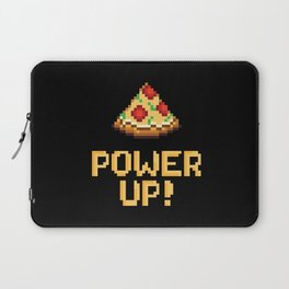 pizza power up Laptop Sleeve