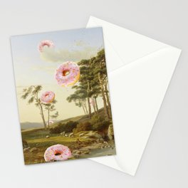 CLOUDY WITH A CHANCE OF DONUTS Stationery Cards