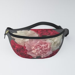 Carnations Fanny Pack