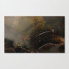 Bridge to the unknown Canvas Print