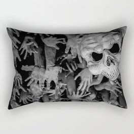 The White Temple - Thailand - 008 Rectangular Pillow