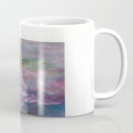 Pink Atmosphere Oil Pastel Drawing  Coffee Mug