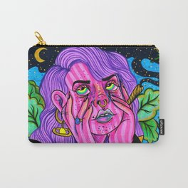 Faded Out Carry-All Pouch