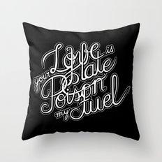 Double Entendre Throw Pillow